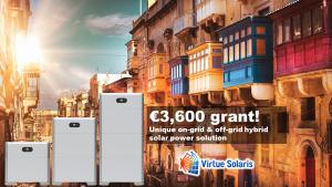 Malta solar battery grants